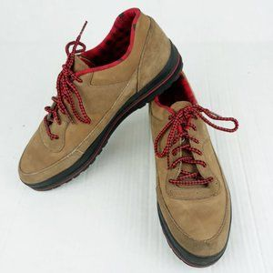Nike IE VTG 90s Hiking Ankle Boots Leather Lace Up
